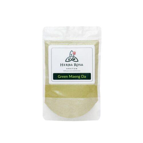 Green Maeng Da Kratom Powder bag